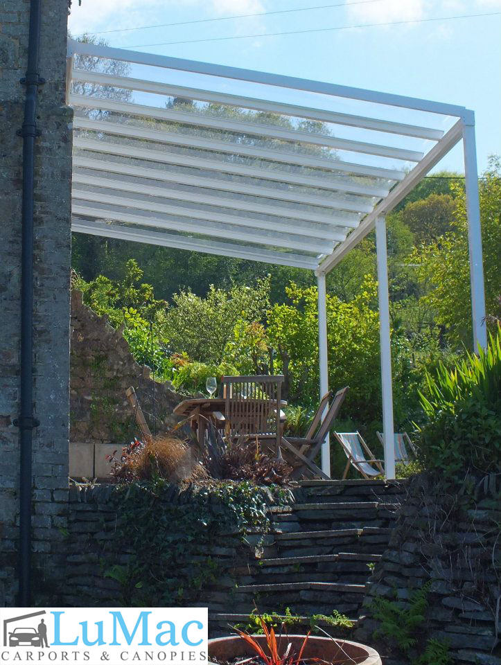 Garden Canopies & Patio Canopy | Clear as Glass Canopies