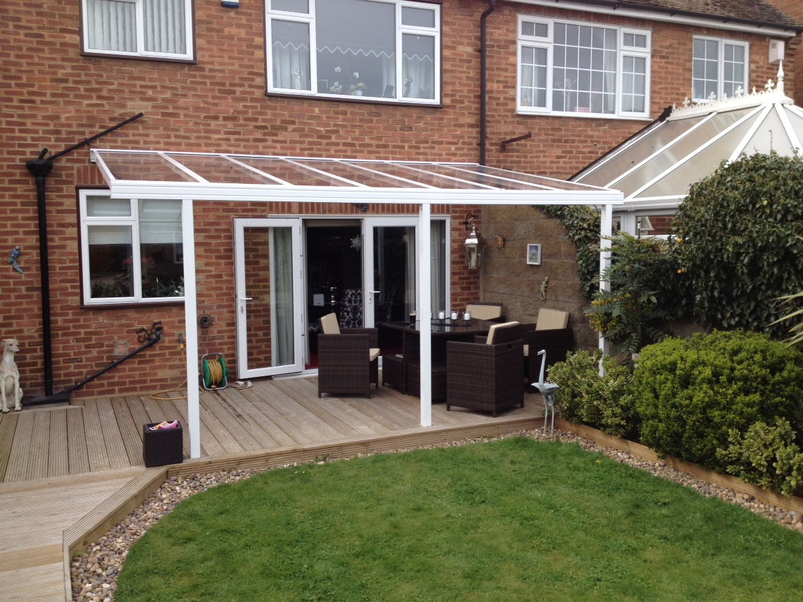 decking canopies