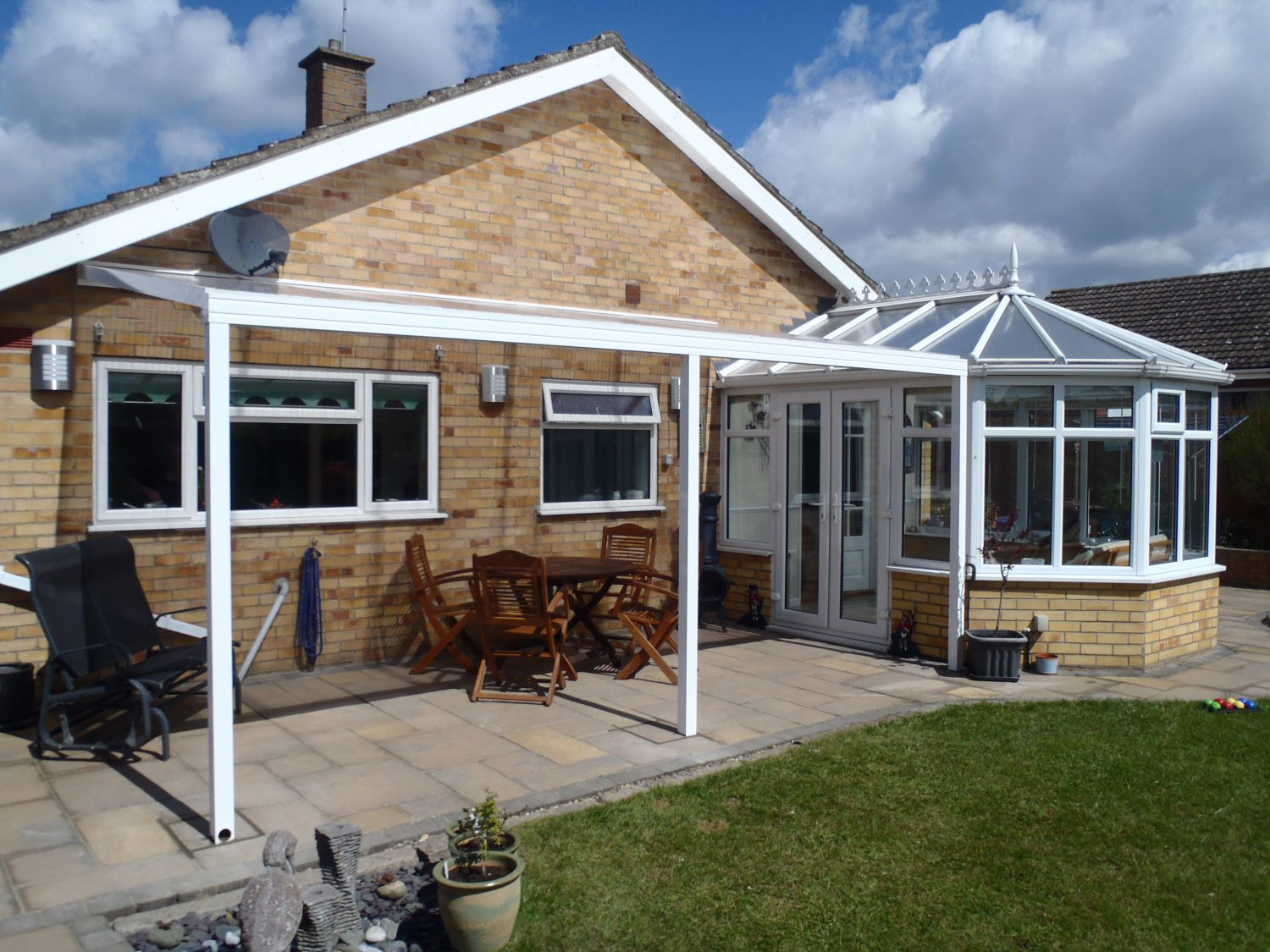 canopy with conservatory