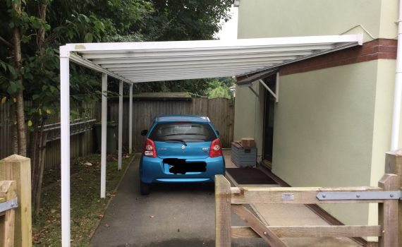 Carport Canopies Product : Driveway carport review lumac canopies and carports