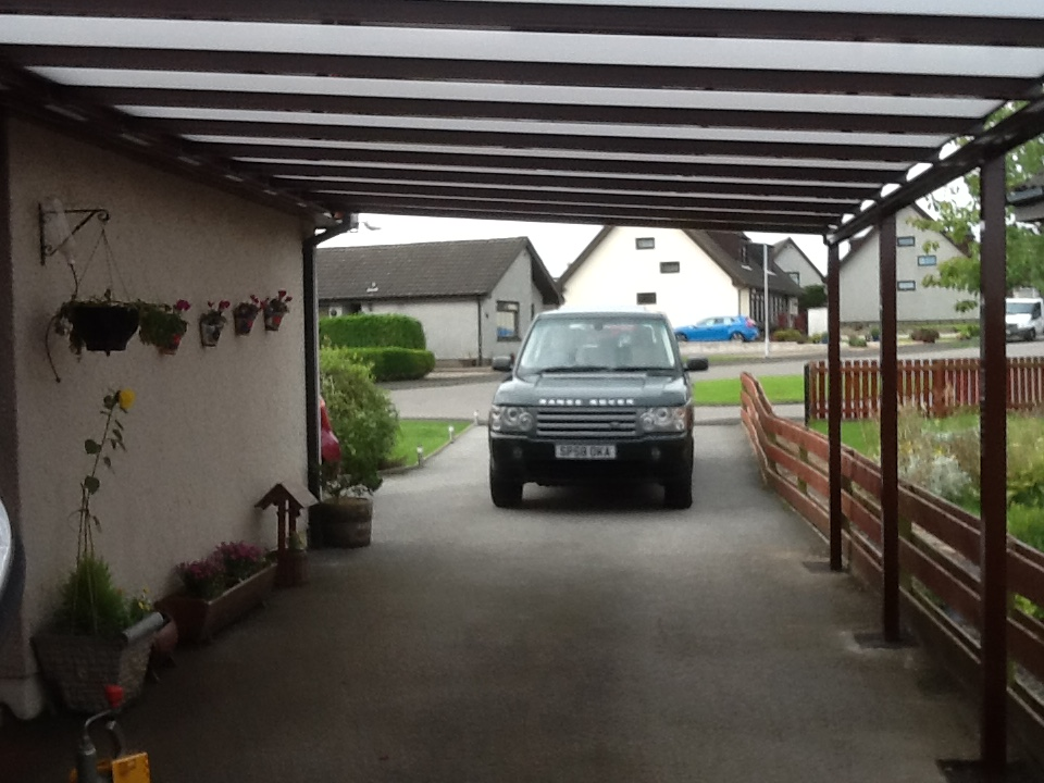 Easy to install Carport