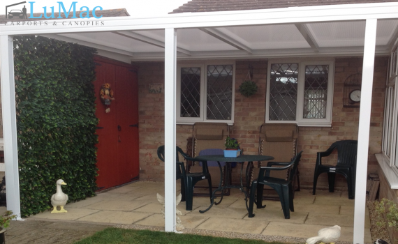 Self Built Canopy, Garden Canopy