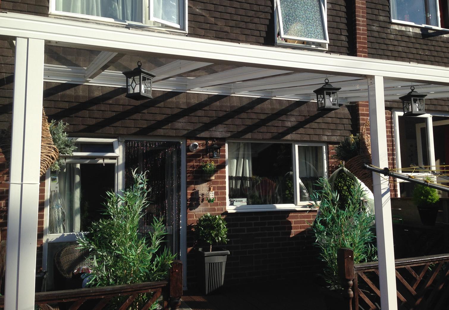 Easy to install Garden Canopy