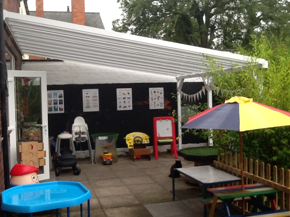 Back Garden Canopy, Play area,
