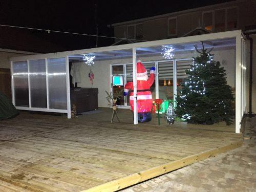christmas canopy