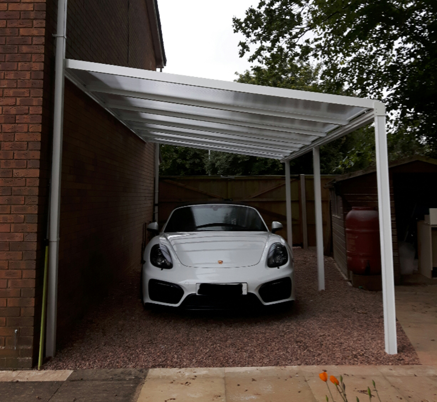 Lumac Carport Cover