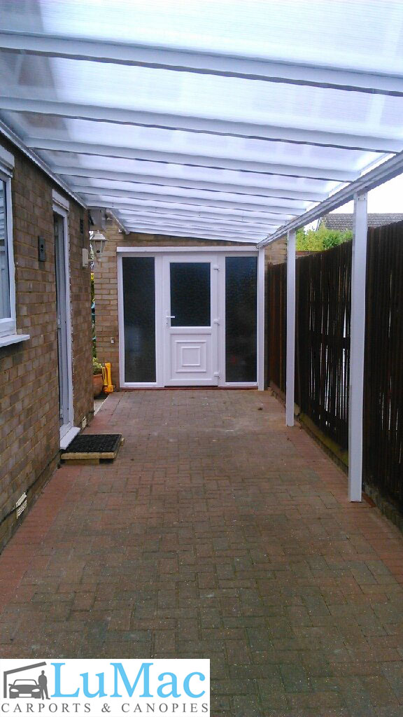 Clear Patio Canopy