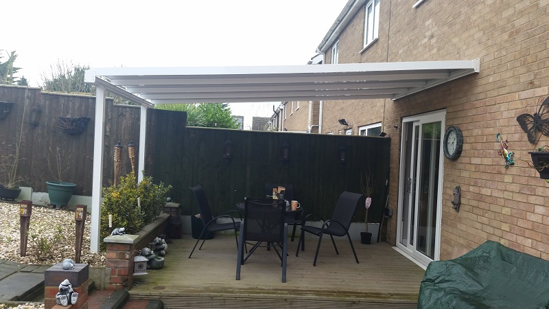 Decking canopy