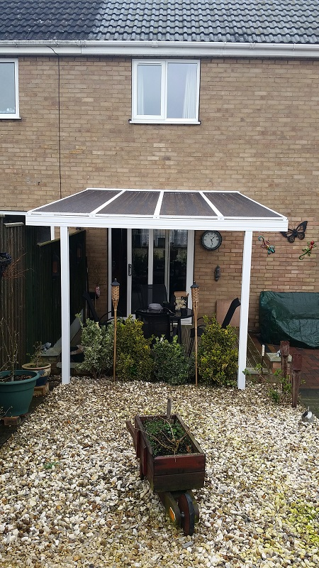 Decking canopy 2