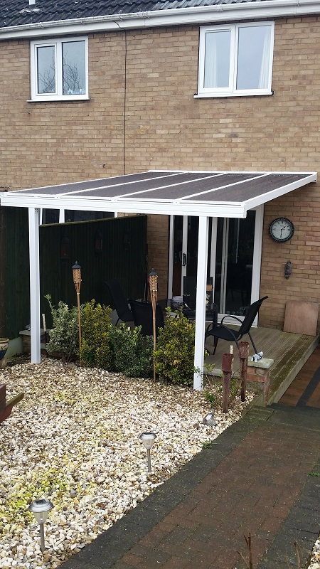 Decking canopy 3