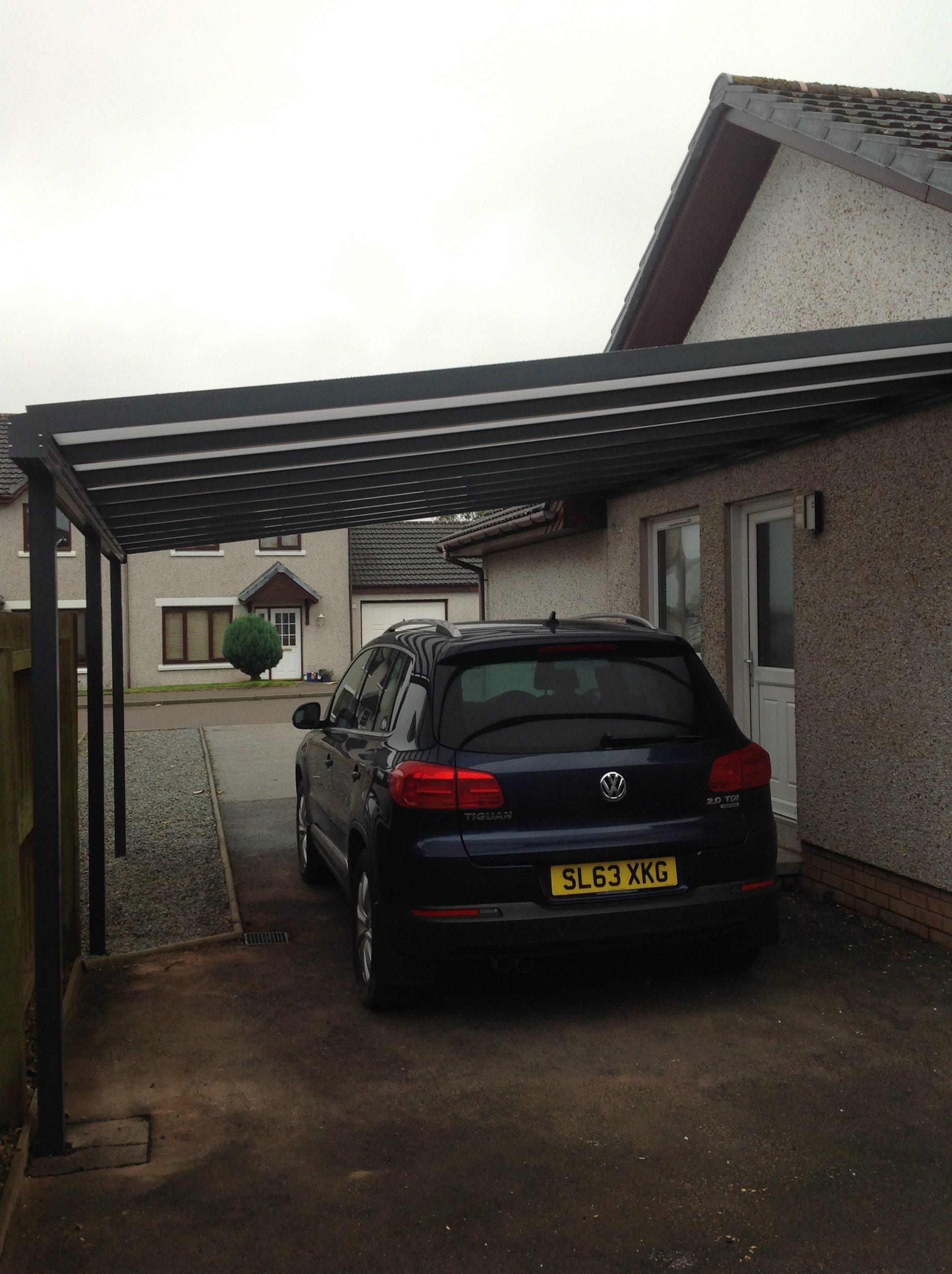 Vehicle Protection Canopy