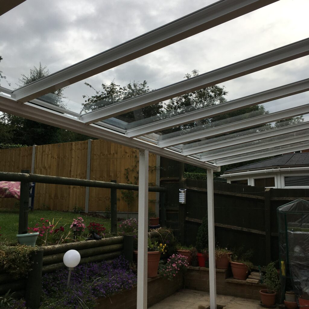Clear as Glass canopy
